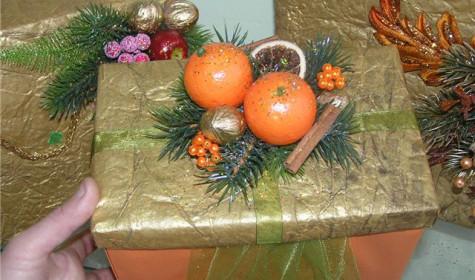 Праздничная упаковка подарков