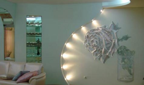 Декоративный ремонт стен