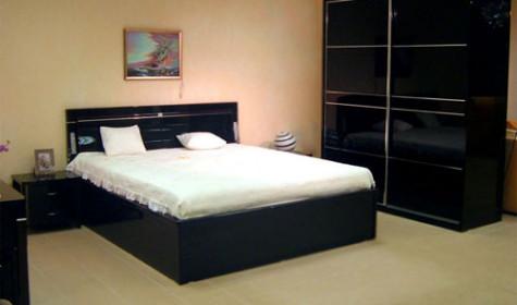 Кровать и шкаф купе 1 в спальню