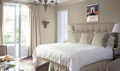 Французский декор в спальне