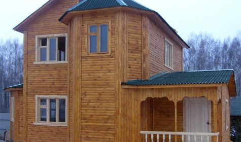 Дачные дома из бруса — удачный вариант