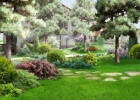 Ландшафтный дизайн туристических баз Саратова и Энгельса