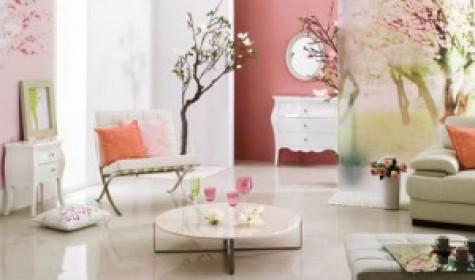 Искусственные цветы в оформлении интерьера квартиры