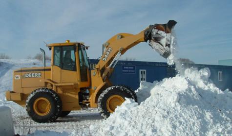 Услуга уборки снега в Москве
