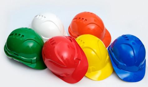 Защитные каски строительные для работ