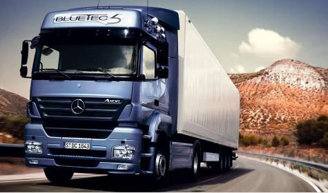 Особенности грузовиков Mercedes