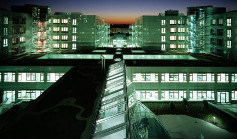 Строительство медицинской клиники