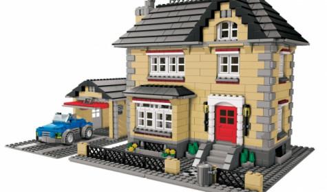 Lego Сreator как часть дизайна детской