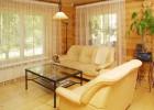 Как отделать деревянный дом внутри