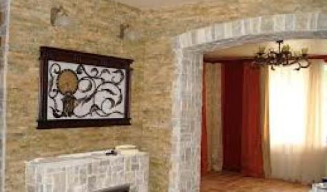 Внутренняя отделка: облицовка стен
