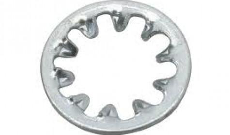 Метизная продукция: шайба зубчата