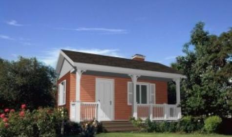 Строительство дачного дома эконом класса