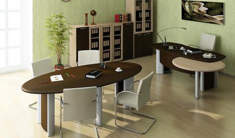 Кабинет руководителя: мебель Prestige
